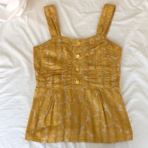 Yellow Marc by Marc Jacobs blouse